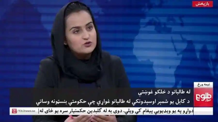 Female journalist Beheshta Arghand flees Afghanistan after TV interview with Taliban leader