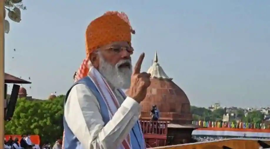 'This is the moment, the right moment': PM Modi recites poem for youth during Independence Day address