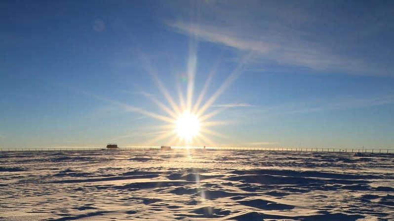 The long night ends in Antarctica as Sun rises after four months of complete darkness