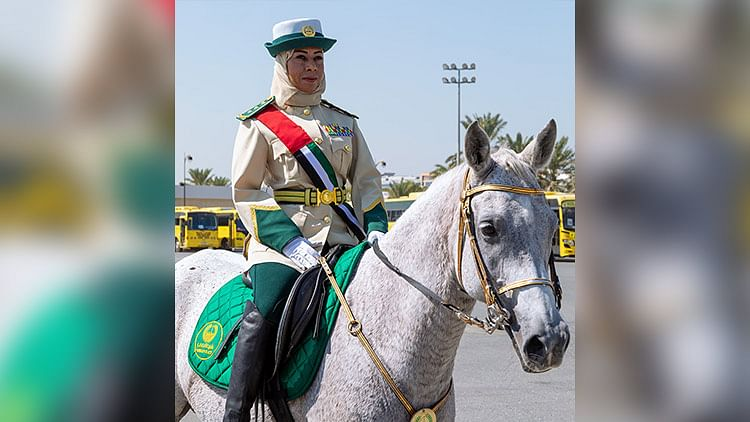 Dubai Police get their first female mounted officer
