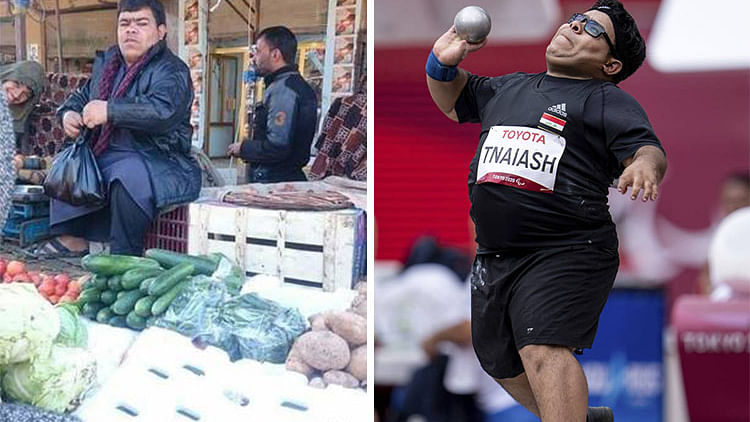 From vegetable seller to silver medallist at Paralympic Games, this is the story of Iraq's Garrah