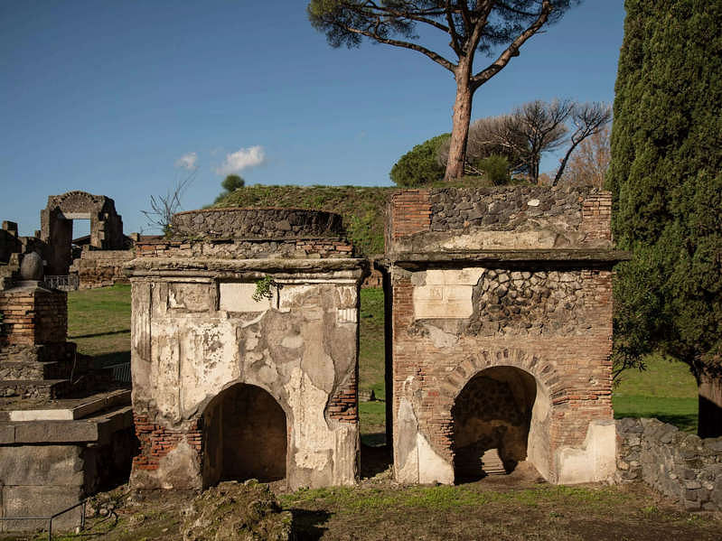 A gravestone inscription reveals how a former slave of Pompeii worked his way up become a high-ranking priest