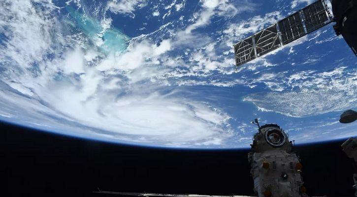 Astronauts share terrifying pics of Hurricane Ida from space as it hits USA