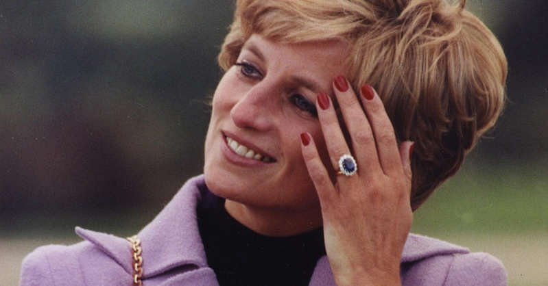 How Princess Diana's ceylon sapphire engagement ring became world-famous
