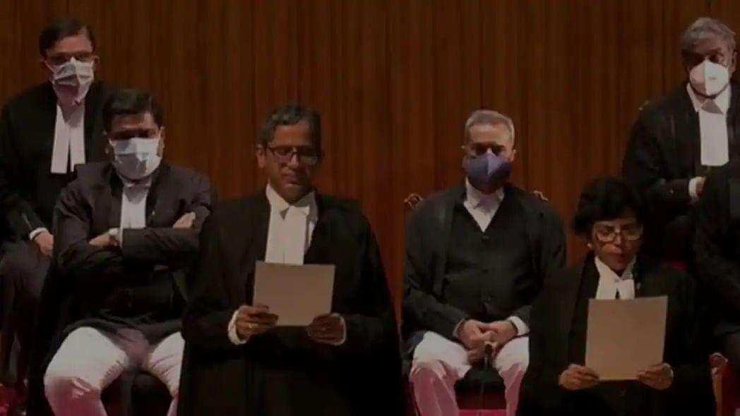 Nine Supreme Court Judges takes oath of office at once for the first time ever