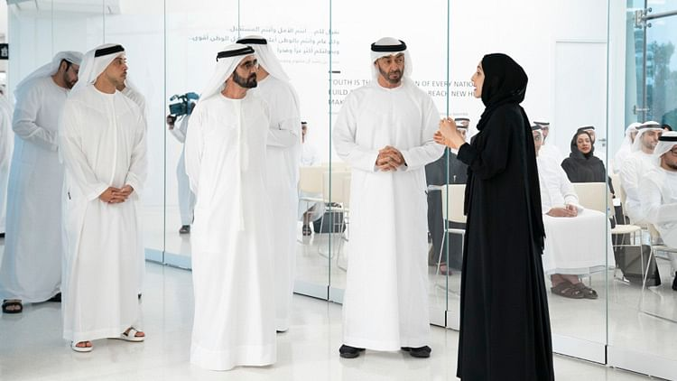85% of employees in Sheikh Mohammed's office are women