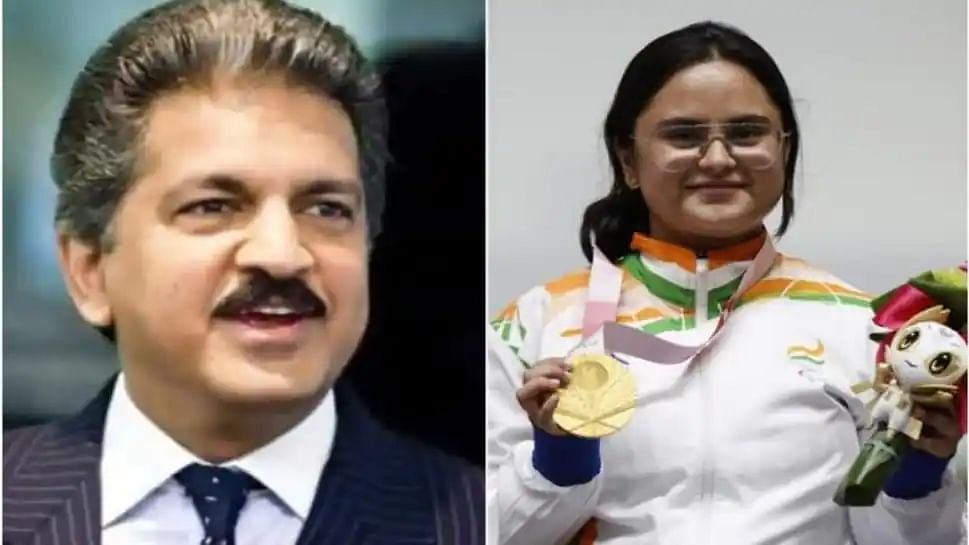 Anand Mahindra decides to gift a customised SUV to Paralympic gold medallist Avani Lekhara
