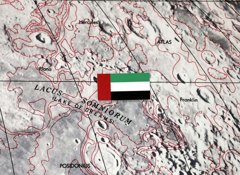 UAE's Rashid Rover to explore moon through 'Lake of Dreams'