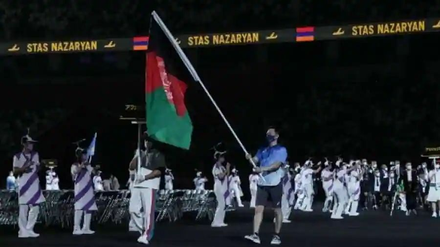 Tokyo Paralympics: Afghanistan flag spreads message of 'solidarity and peace' during opening ceremony