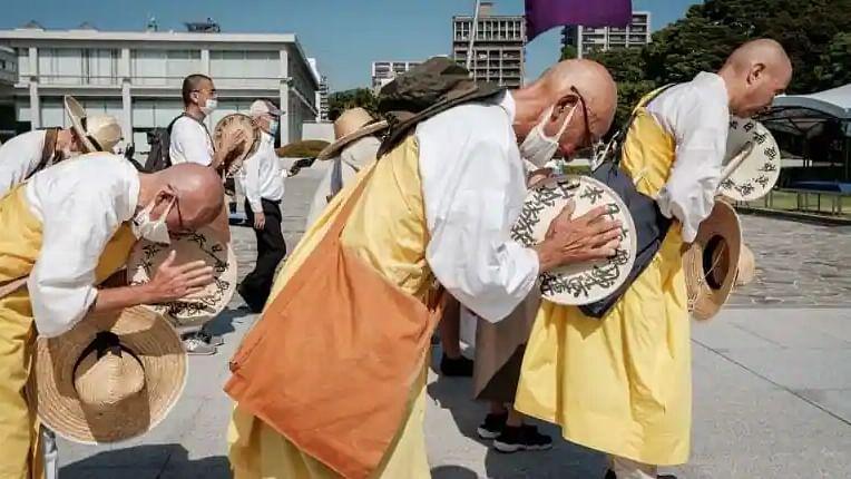 Japan marks Hiroshima bomb anniversary with low-key ceremonies