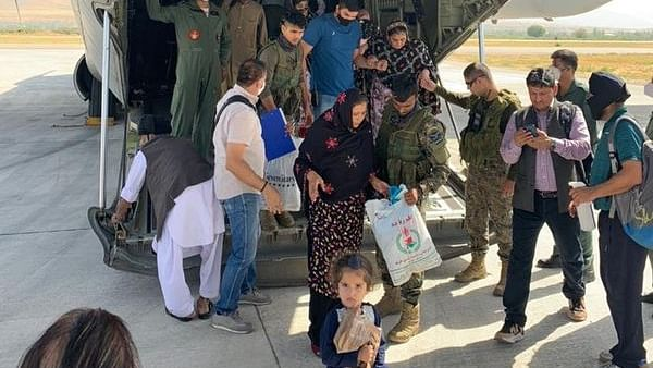 Among 78 Afghan evacuees to India on Tuesday, 16 test Covid-19 positive