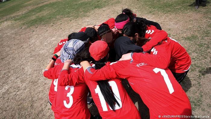 Afghan women football players, athletes evacuated to Australia