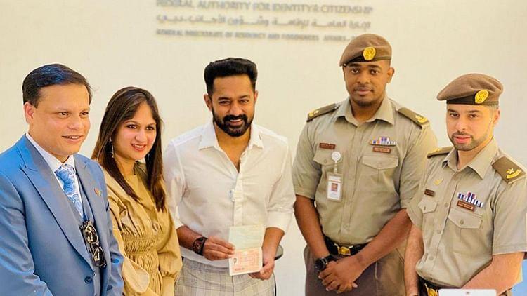 Malayalam film star Asif Ali gets coveted UAE Golden Visa