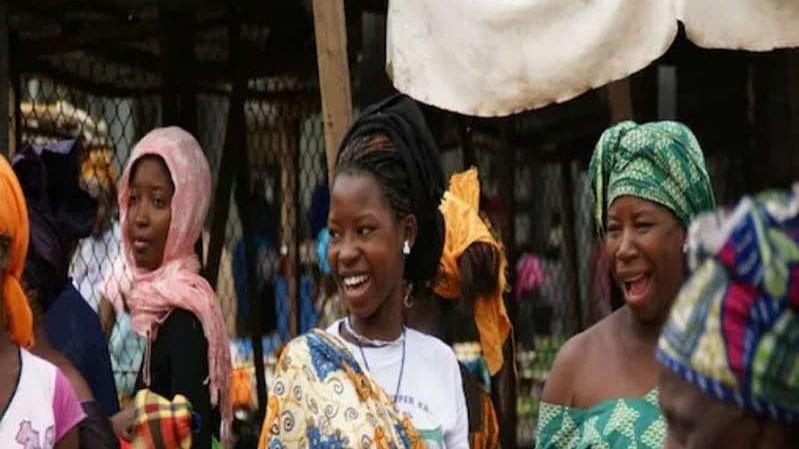 In this Nigerian village, men and women speak different languages