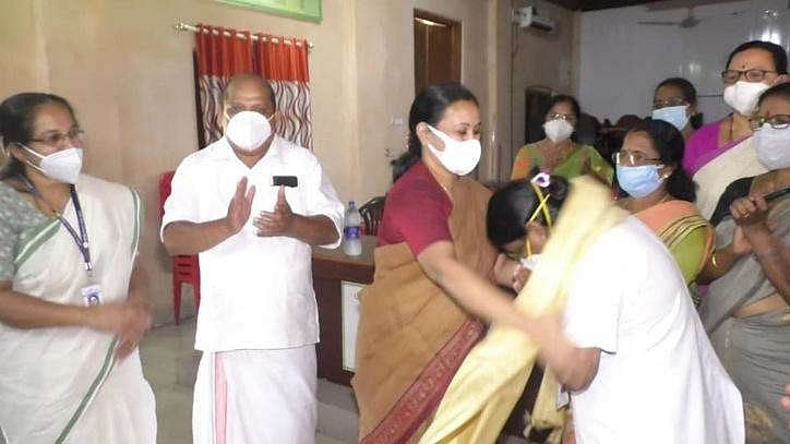 This Kerala nurse has set a new record by administering 893 COVID Vaccine doses in 7.5 hours