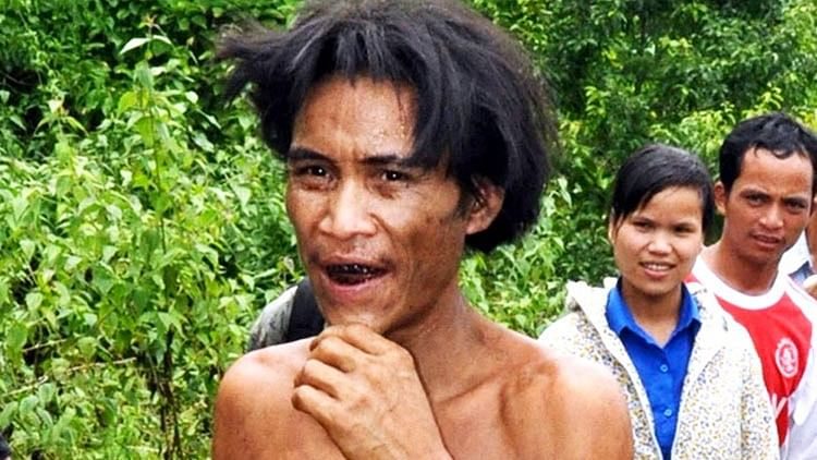 Real-life Tarzan Ho Van Lang, who lived in the jungle for 41 years, dies of liver cancer at 52