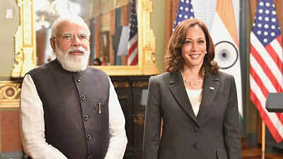 Harris source of inspiration for many around the world: PM Modi