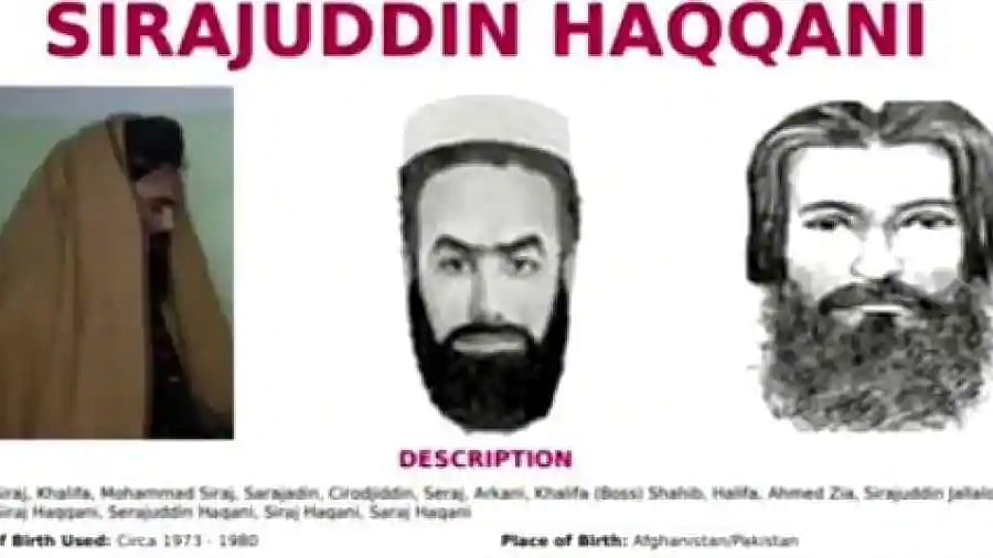 Taliban government: Sirajuddin Haqqani on FBI wanted list, other key members on UN blacklist