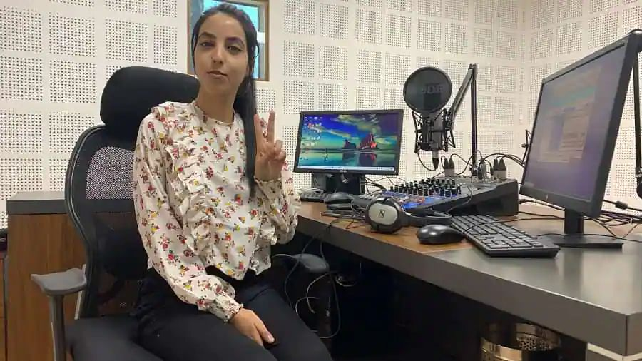 Meet the youngest and first female RJ from north Kashmir