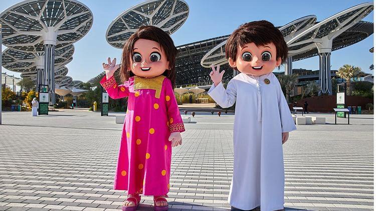 Expo 2020 Dubai a playground for adventure-seeking families
