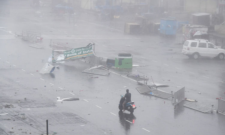 Cyclone Gulab: Heavy rains flood low lying areas in the Vizag; fishermen cautioned