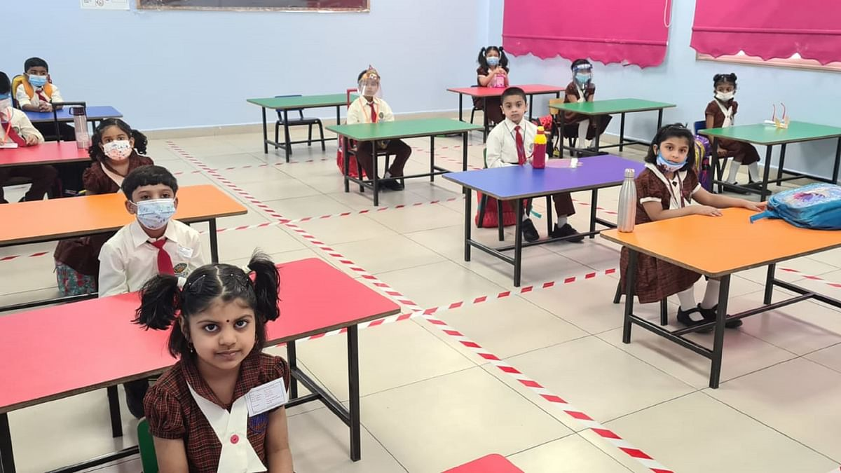 Bhavans SIS Reopens School in a Staged Fashion