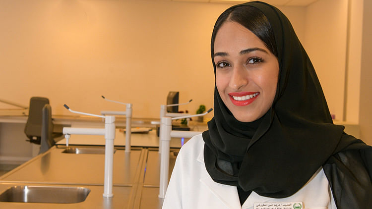 Female forensic expert sets trend in Dubai Police