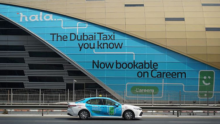 Taxis to be 'automatically dispatched' at Expo 2020 site