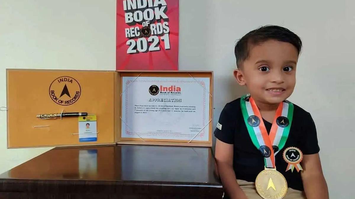 2-year-old Indian boy makes a record, memorizes car logos