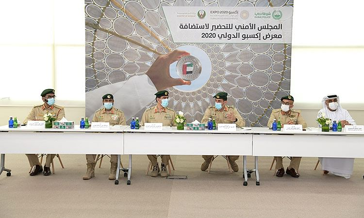 Expo 2020 visitors will be able to avail police service without any human intervention