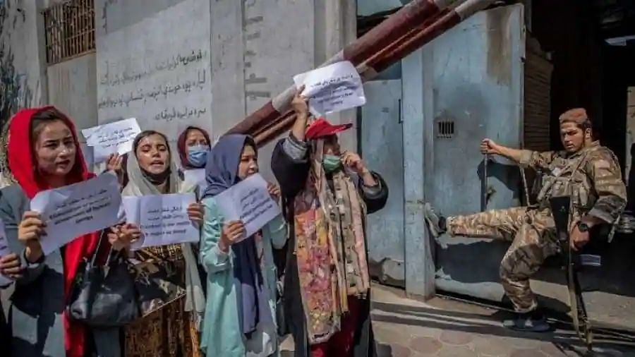 Afghan activist says Taliban have no choice but to listen to women