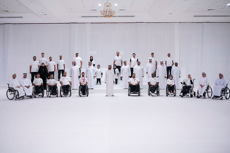 Nation is proud of your feats, Sheikh Mohammed tells UAE Paralympic team