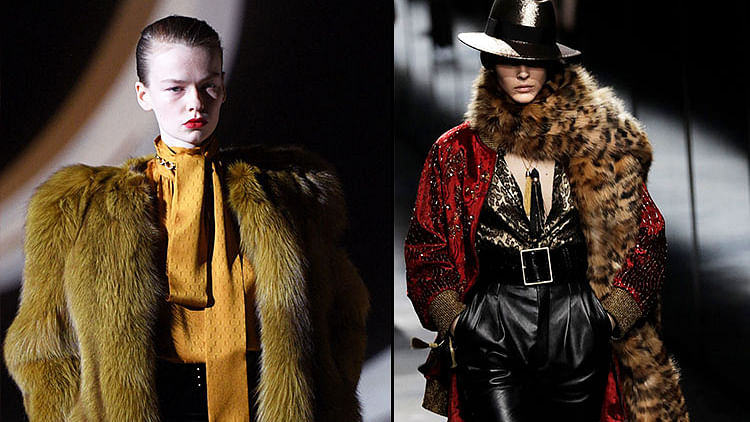 French luxury brand Yves Saint Laurent to stop use of fur by 2022
