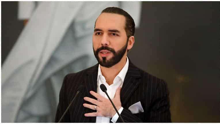 El Salvador president changes Twitter bio to 'dictator'