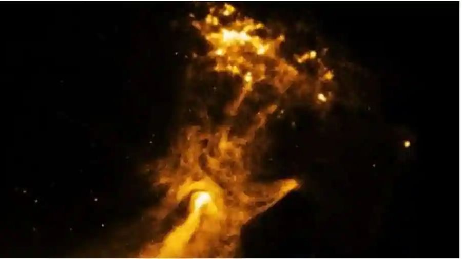NASA posts image of 'Hand of God', netizens are awestruck