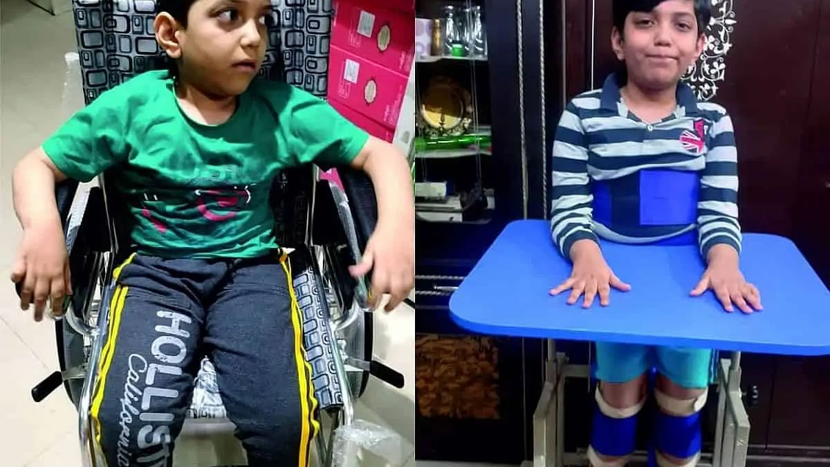 UAE-based Hyderabadi parents seek help for 8-yr-old son's Rs 5 Cr treatment