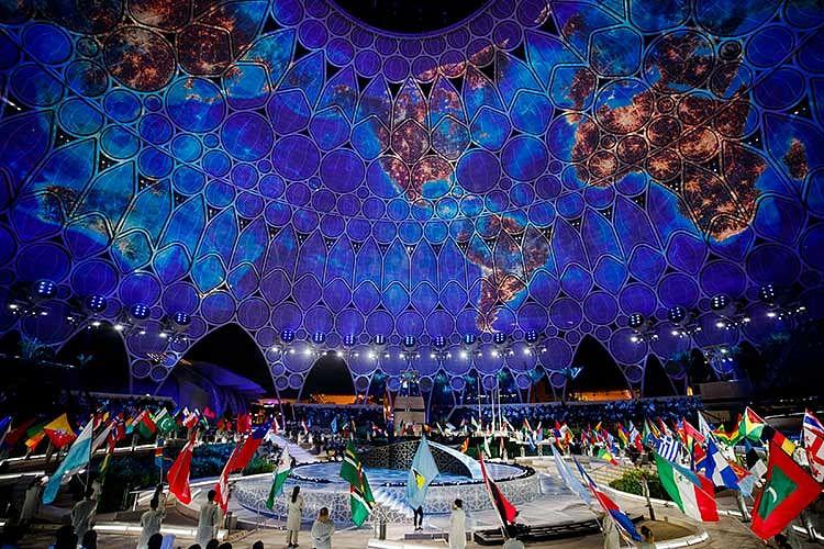 Photos: Fireworks light up Dubai skies on first day of Expo 2020 Dubai