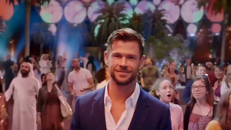 Hollywood actor Chris Hemsworth invites you to experience Expo 2020 Dubai