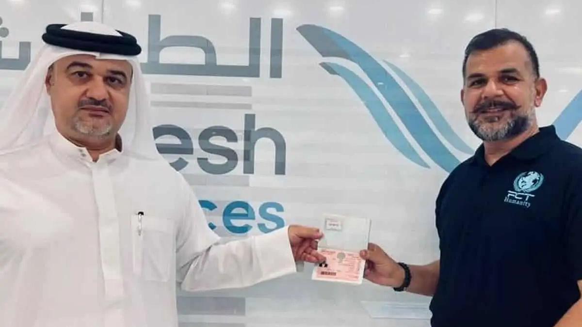 Dubai-based Indian philanthropist receives UAE golden visa