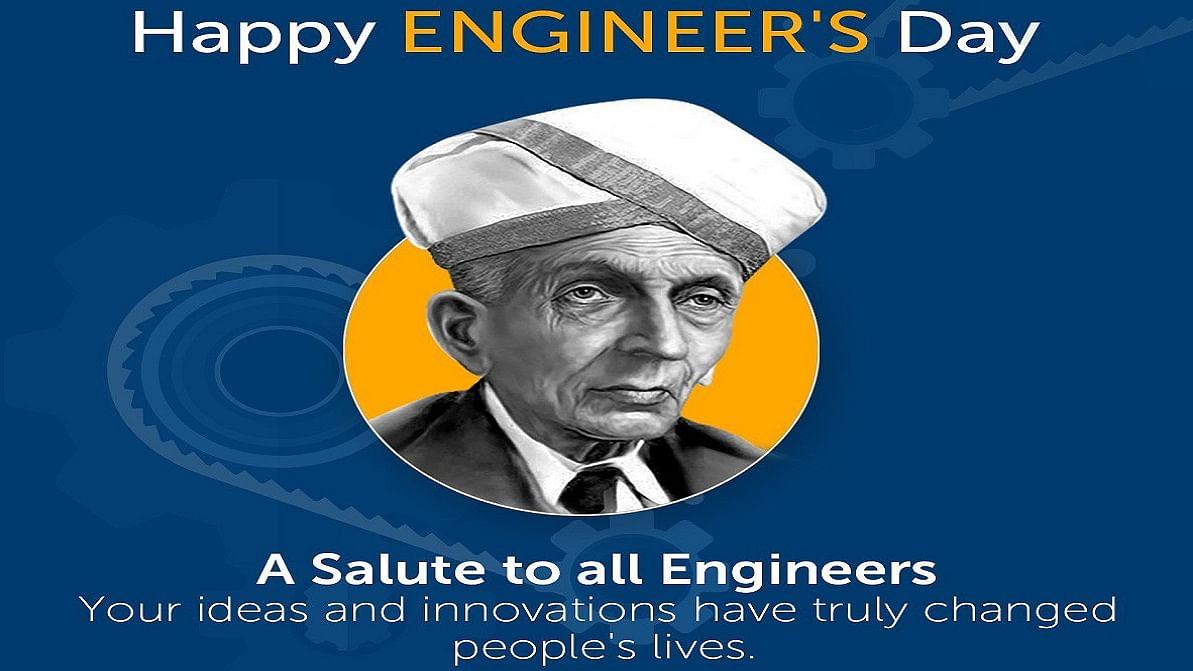 PM Modi greets engineers on Engineers Day