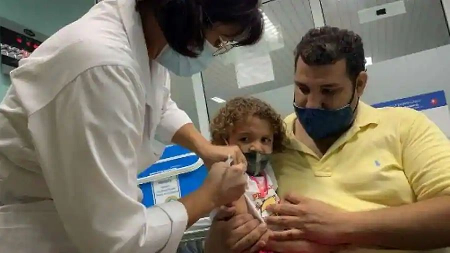 In a first, Cuba begins COVID-19 vaccination for toddlers