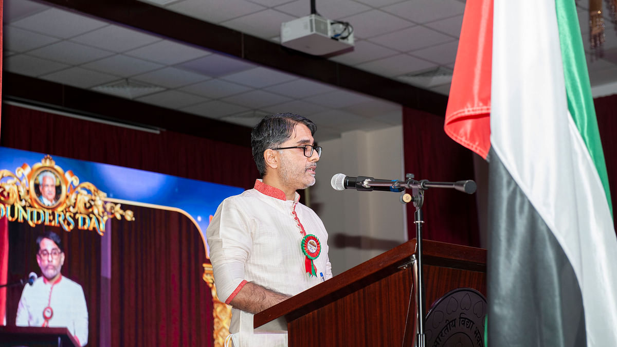 Bhavans Middle East Celebrated Founder's Day
