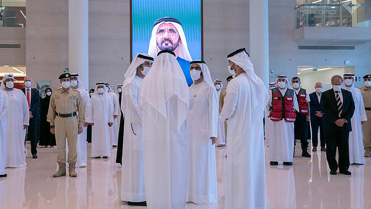 Mohammed meets COVID-19 disaster teams, reviews preparations for Expo 2020
