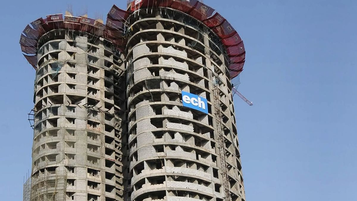 Supertech's 40-floor residential towers in Noida to be demolished within 3 months, Supreme Court cites 'builder-authority collusion'