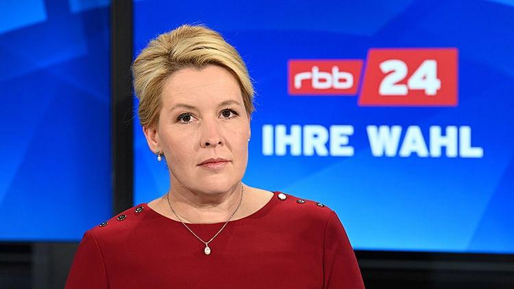 Franziska Giffey becomes first female mayor of Berlin