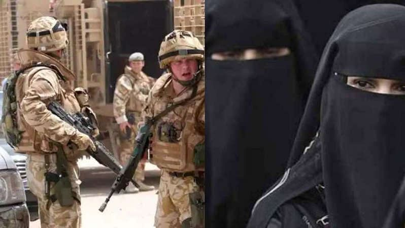 British soldiers escaped from Afghanistan disguised in burqas