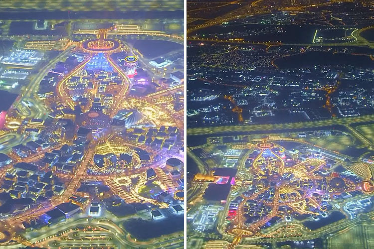 Sheikh Hamdan shares stunning video of Expo site, asks 'Are you ready?'