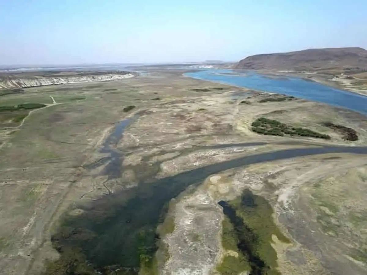 River Euphrates in Syria drying up, local populace affected