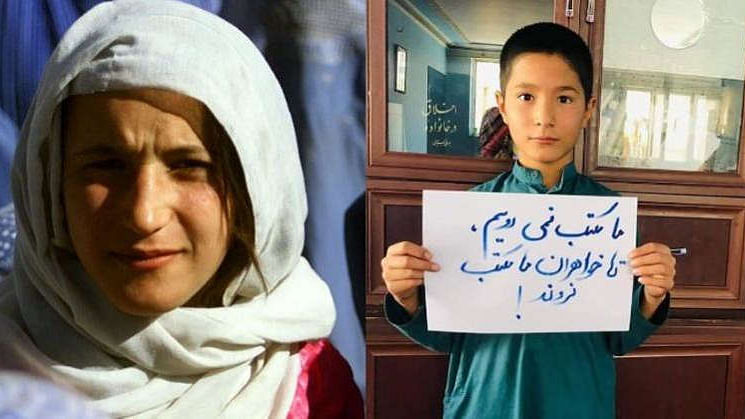 'No school without sisters,' Boys in solidarity as Taliban ban girls from secondary school