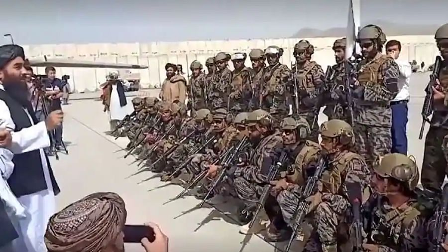 Taliban spokesperson asks soldiers to 'treat the people well', citizens however remain sceptic